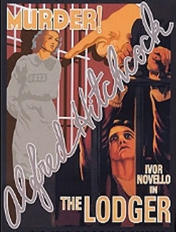 Film poster for Alfred Hitchcock, The Lodger (1927)